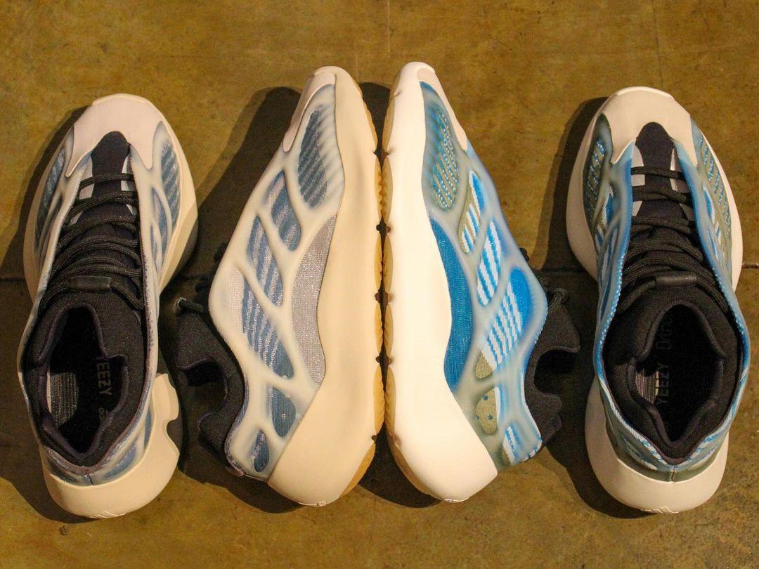 Adidas Yeezy 700 V3 bleu pâle (2)