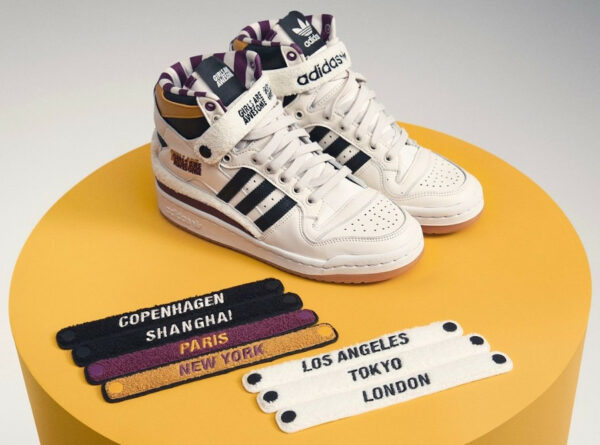 Adidas x Girls Are Awesome Forum W Chalk White Purple