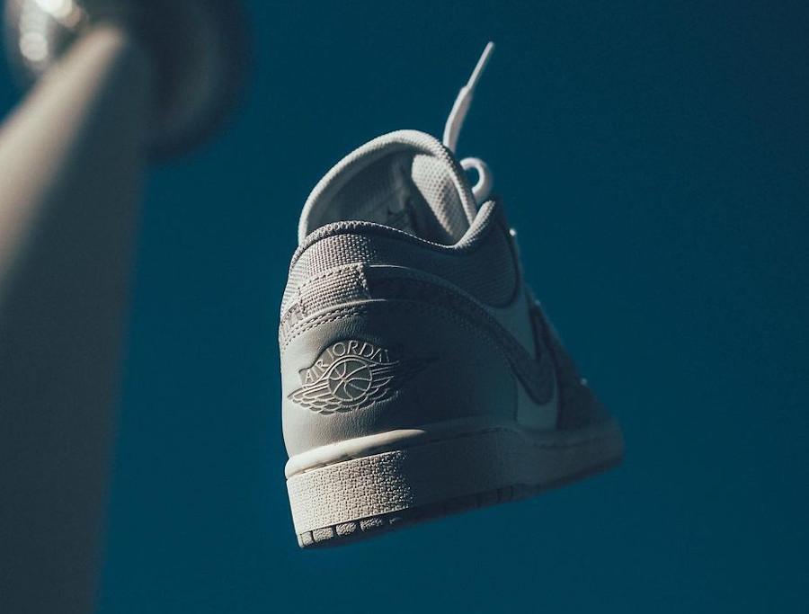 Air Jordan 1 basse 2021 blanche et grise (4)