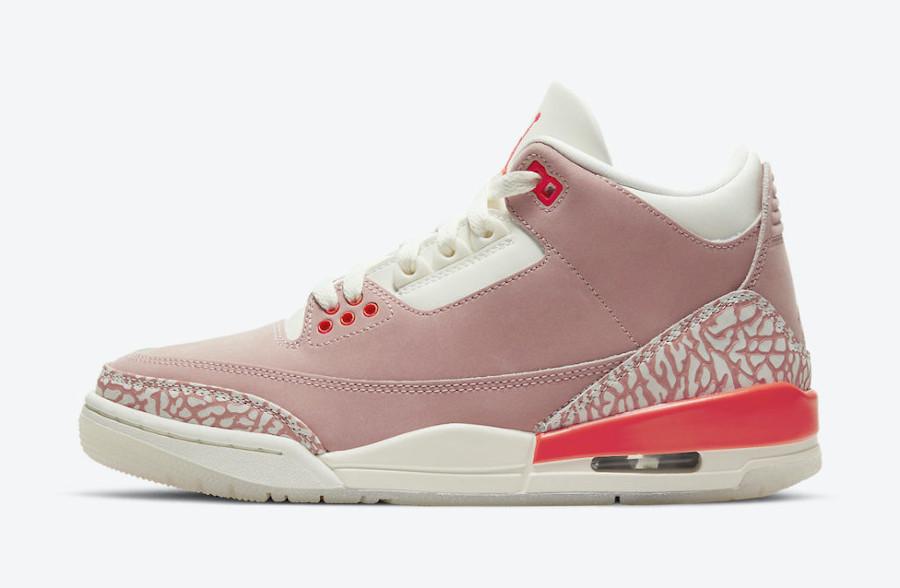 Air Jordan 3 Retro Rust Pink