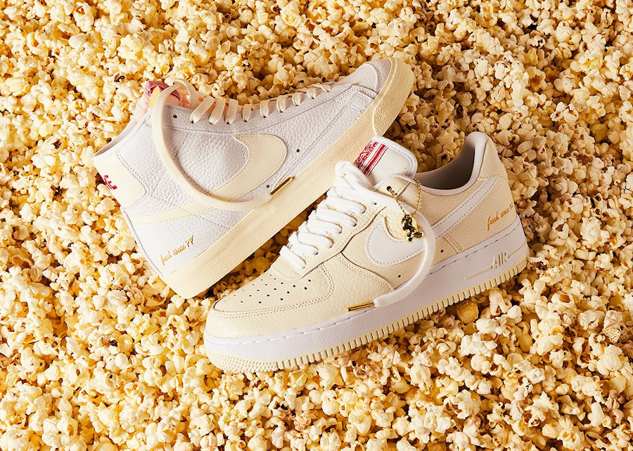 Nike AF1 Low '07 PRM EMB Pop Corn CW2919 100
