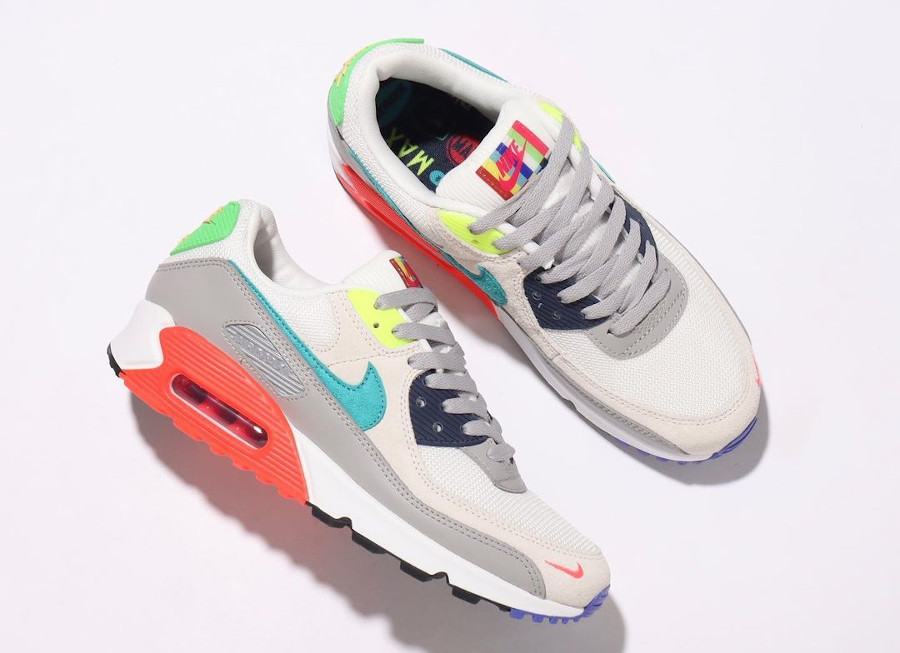 Nike AM90 2021 Pearl Grey Sport Turquoise Summit White (1)