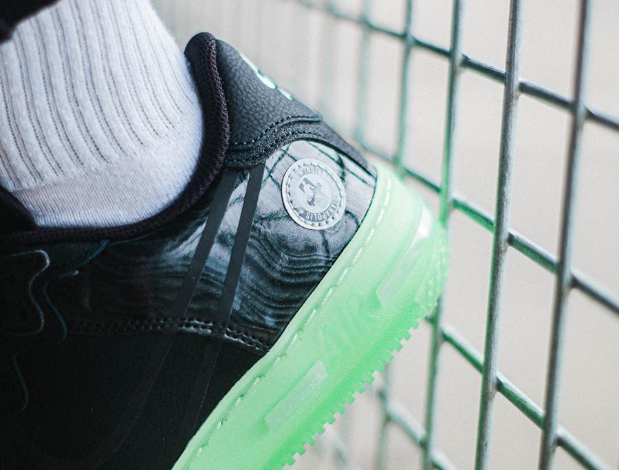 Nike Air Force One React DSMX 2021 noire et verte (1)