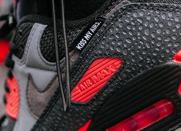 Nike Air Max 3 KMA noire et grise (4)
