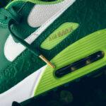 Le pack Nike Saint Patrick's Day 2021 (Air Max 90 & Air Force 1 '07)