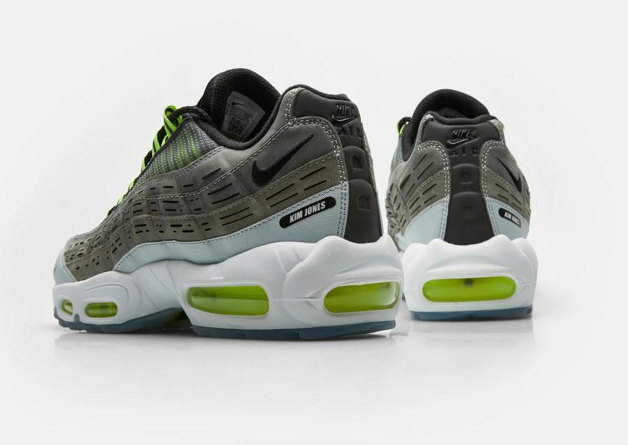 Nike Air Max 95 KJ grise et vert fluo (1)