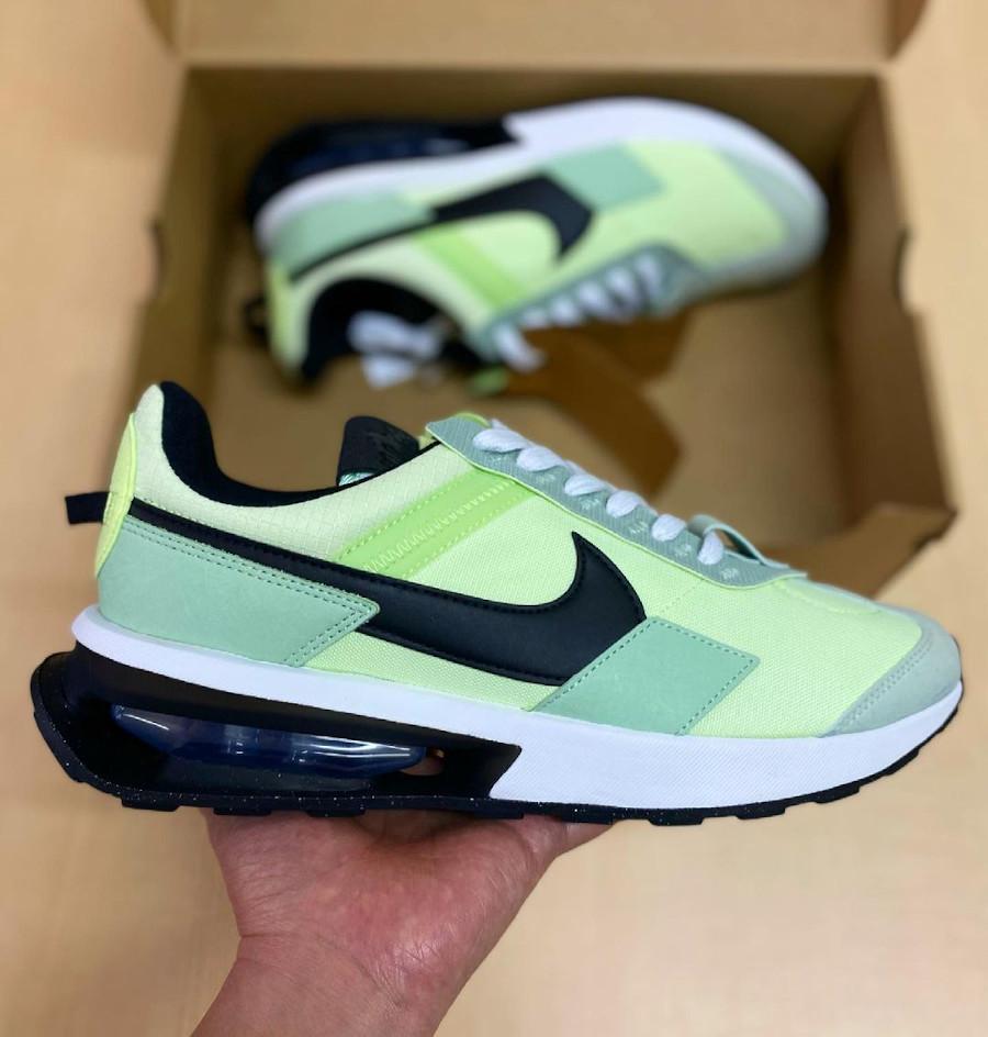 Nike Air Max Pre Day vert citron pistache (4)