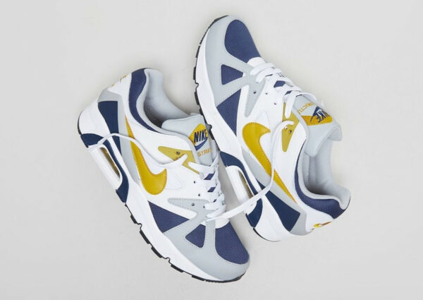 Nike Air Max Structure Triax 91 Dark Citron Navy Grey 2021 db1549-400