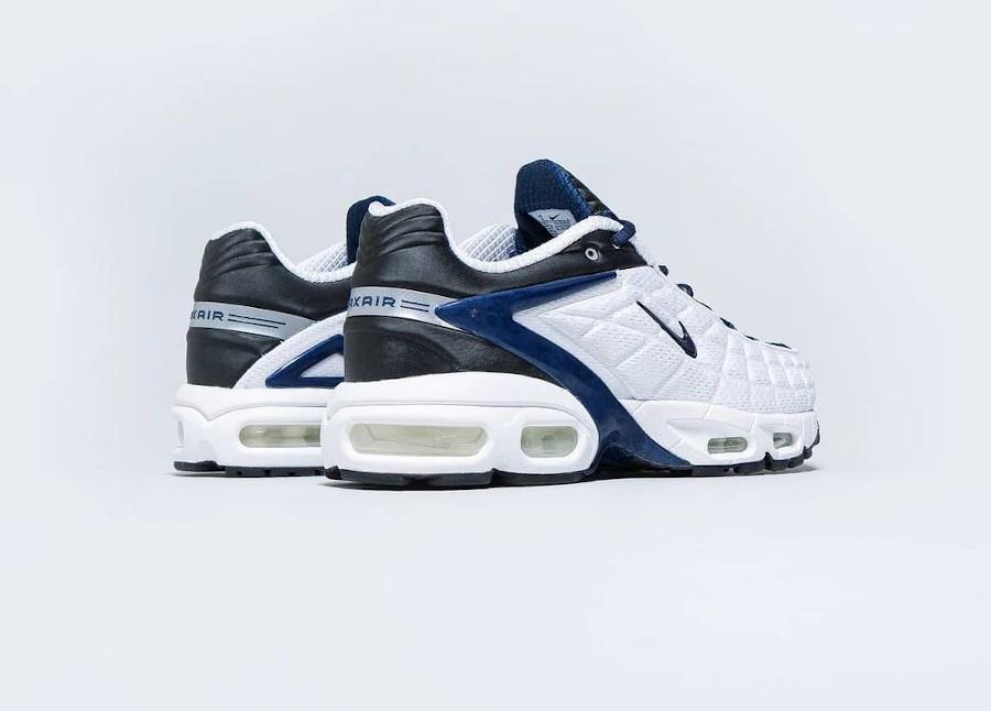 Nike Air Max Tailwind 5 blanche bleu foncé et noire (2)