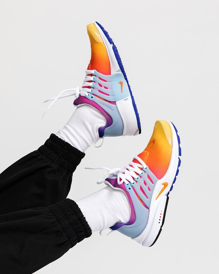Nike Air Presto Sunrise Rainbow 2021 (20ème anniversaire)