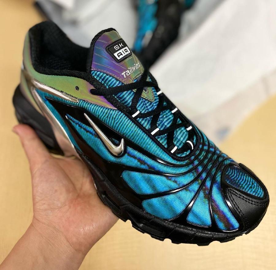 Nike Air Tailwind V +irisée bleu papillon (1)
