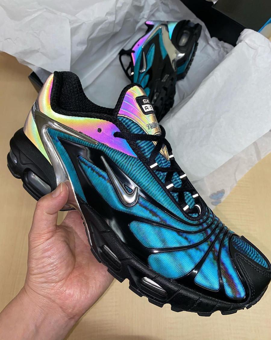 Nike Air Tailwind V +irisée bleu papillon (3)