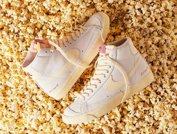 Nike Blazer MID '77 VNTG EMB Popcorn CW6421 100