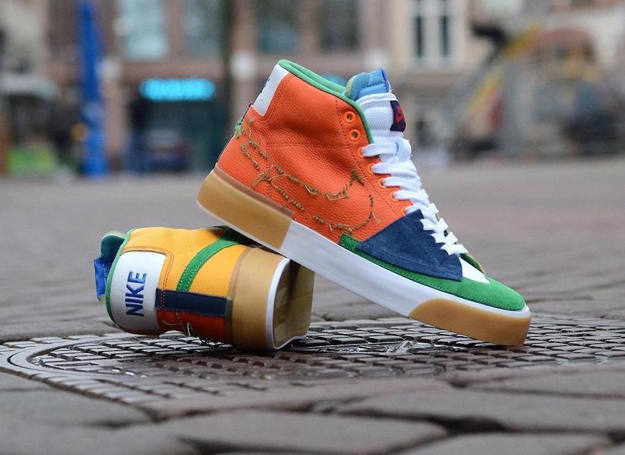 Nike Blazer Mid SB Edge Multi-Color (3)