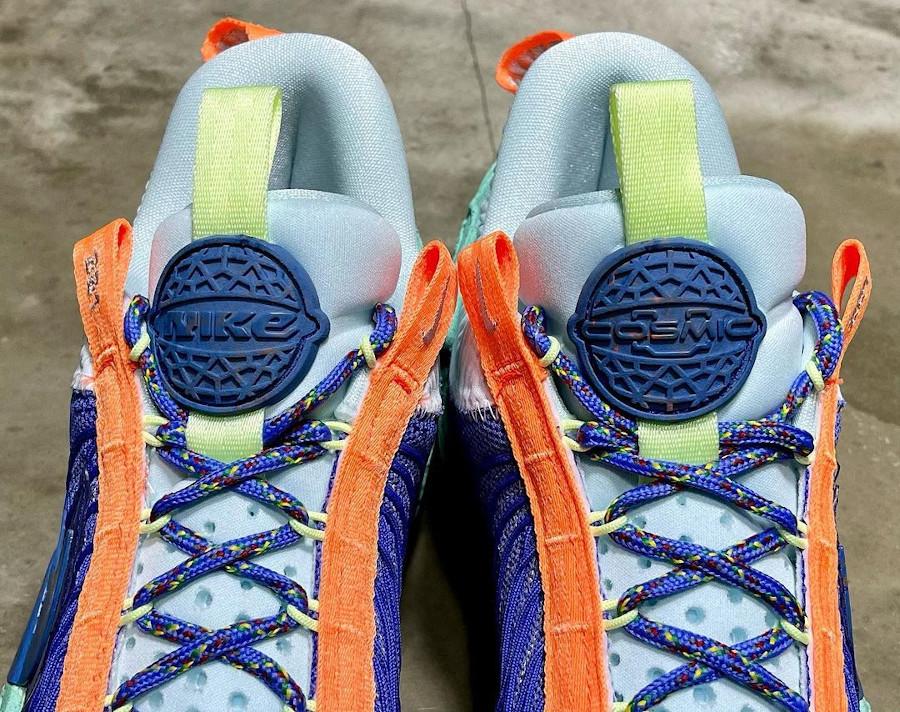 Nike Cosmic Unity ASG violet orange et vert menthe (5)