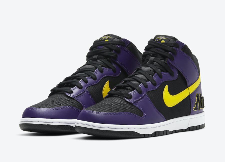 Nike-Dunk-High-EMB-Lakers-DH0642-001-date-de-sortie