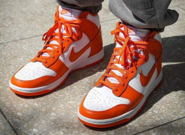 Nike Dunk High Syracuse Orange Blaze 2021 DD1399-101