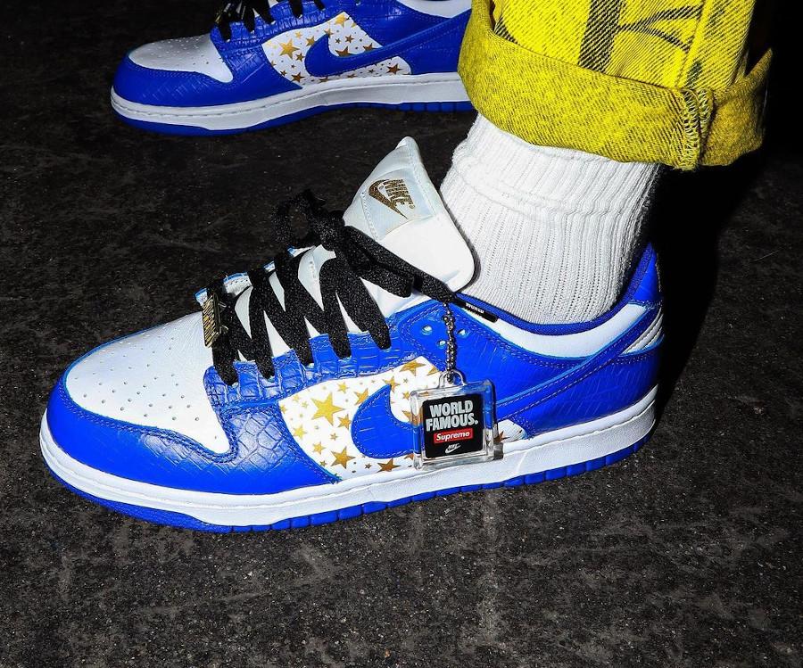 Nike Dunk Lo Pro SB bleu foncé blanche DH3228-100 (2)