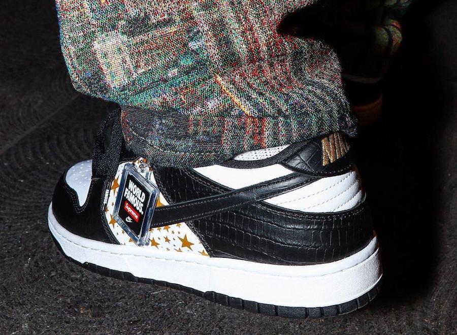 Nike Dunk Lo SB Pro blanche et noire DH3228-102 (1)