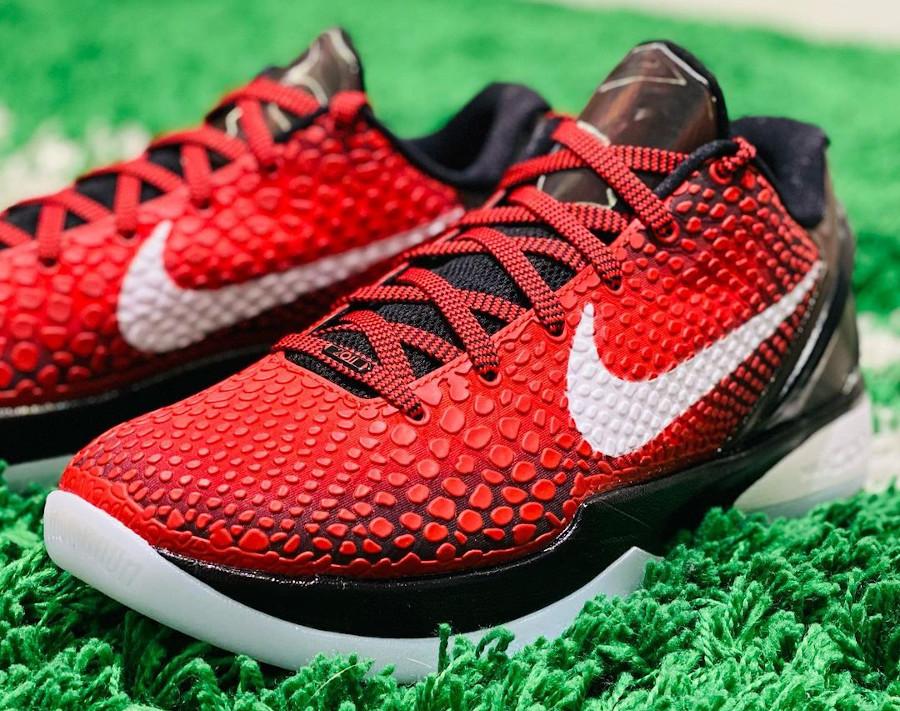 Nike Kobe VI rouge et noire (1)