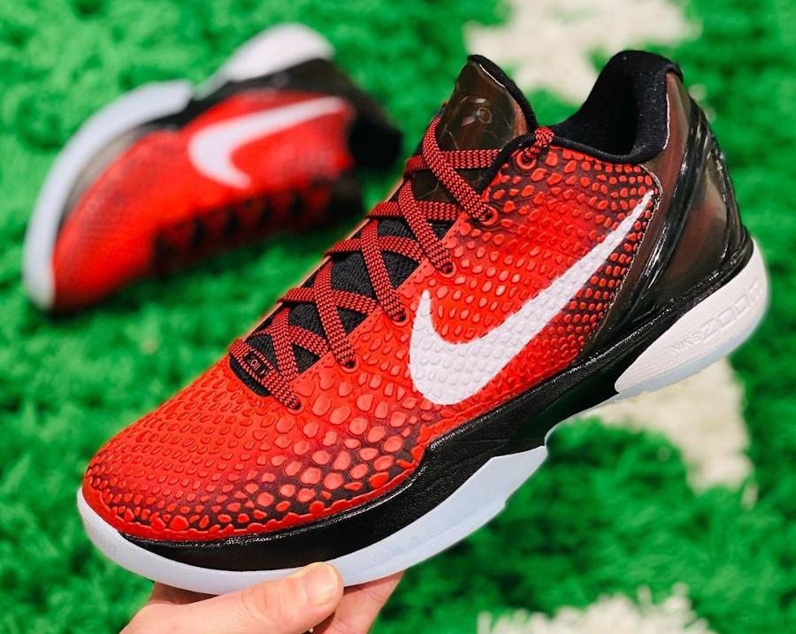 Nike Kobe VI rouge et noire (2)