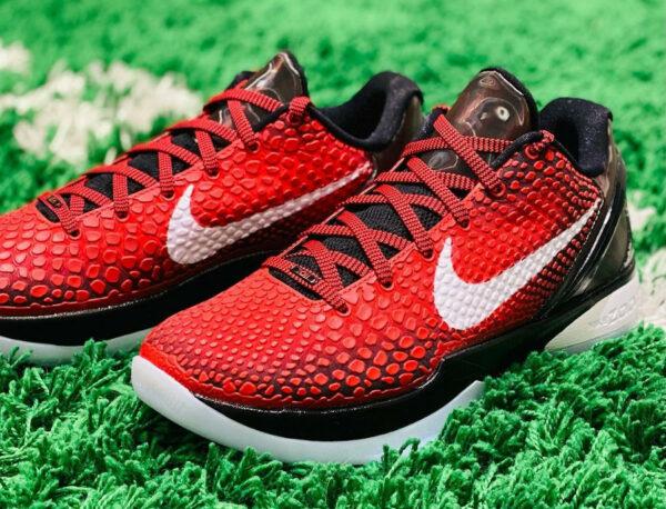 Nike Kobe VI rouge et noire (3)