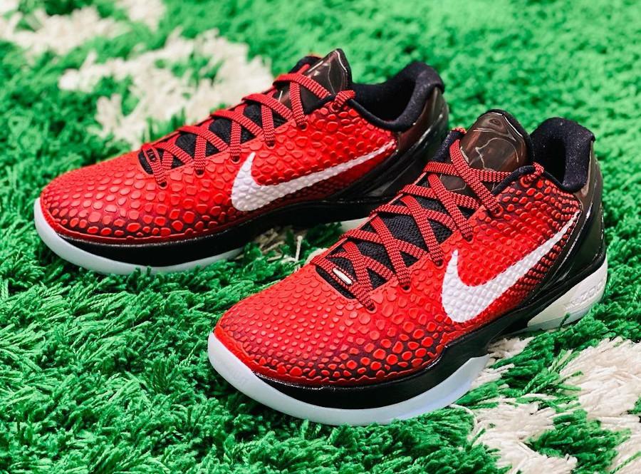 Nike Kobe VI rouge et noire (5)