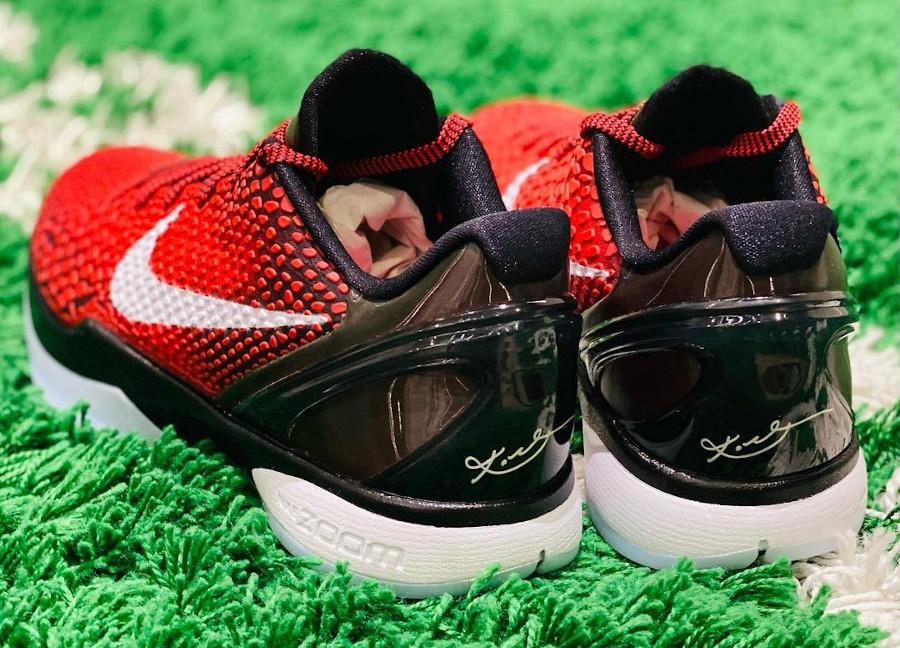 Nike Kobe VI rouge et noire (6)
