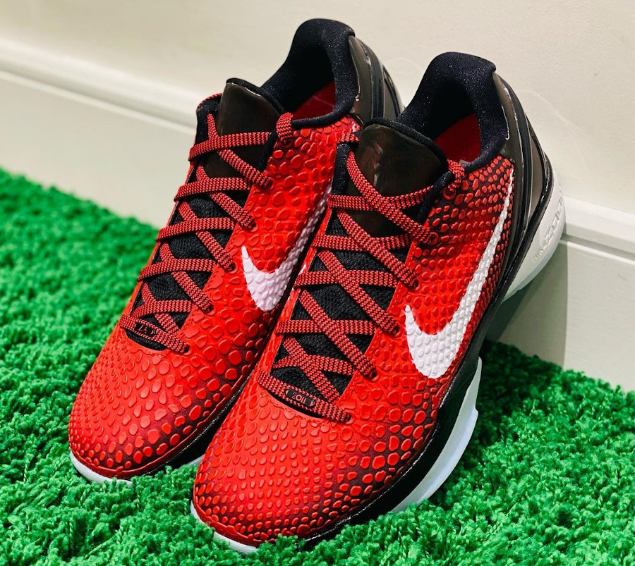 Nike Kobe VI rouge et noire (7)