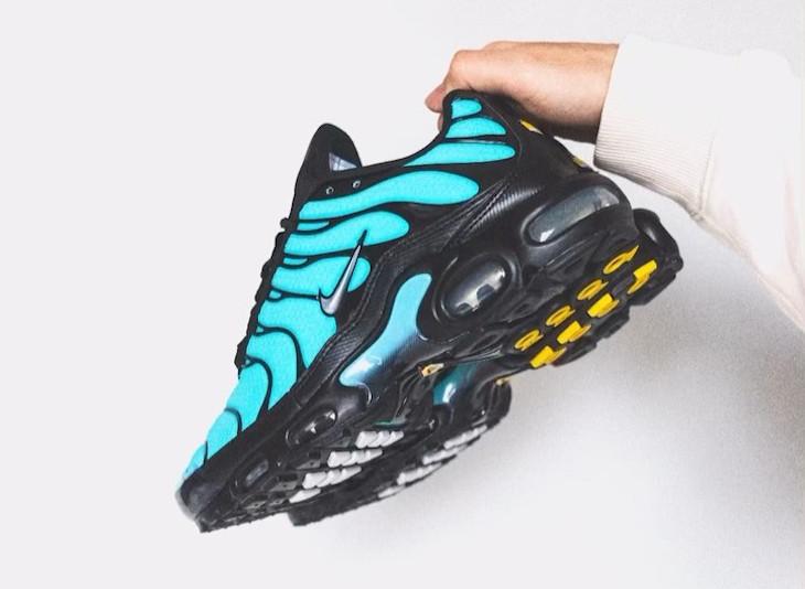 Nike Tuned 1 2021 bleu turquoise noire et argent (4)