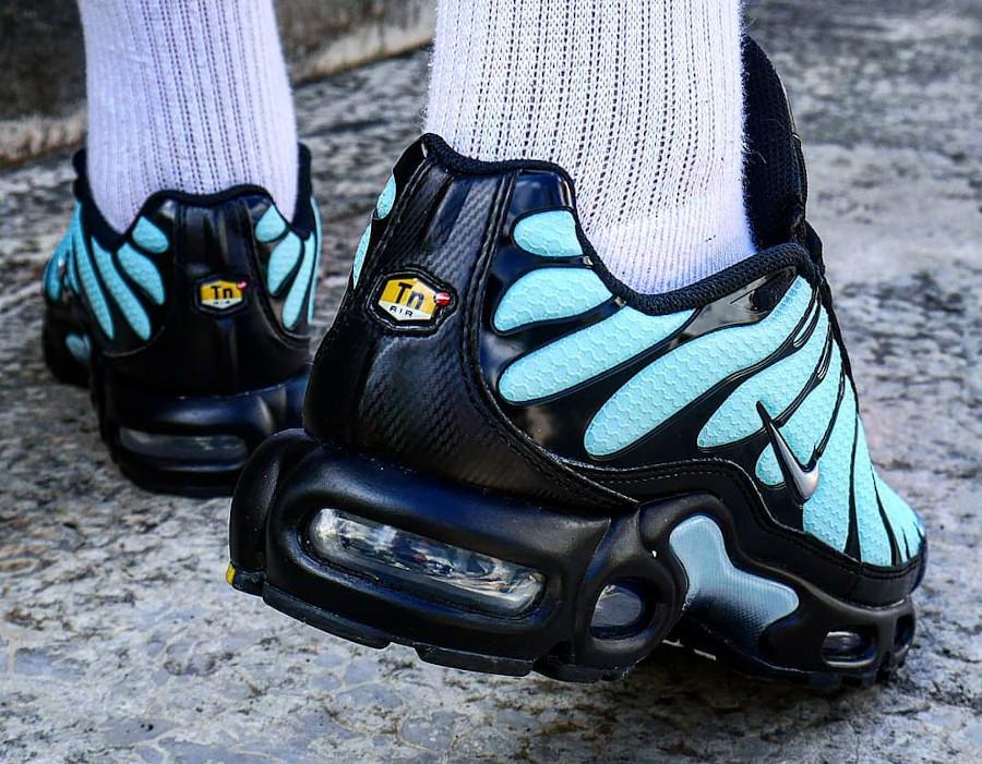 Nike Tuned 1 2021 bleu turquoise noire et argent (7)