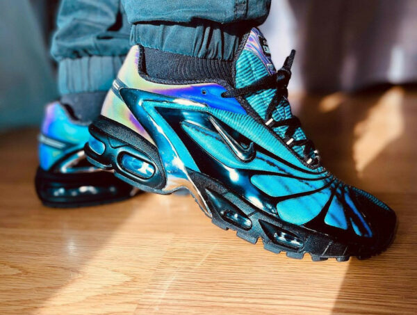 Nike x SK Air Tailwind 5 Plus Skepta Chrome Blue CQ8714-001