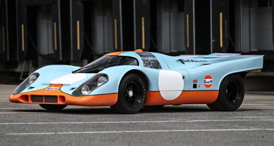 Porsche 917 Gulf Steve Mcqueen
