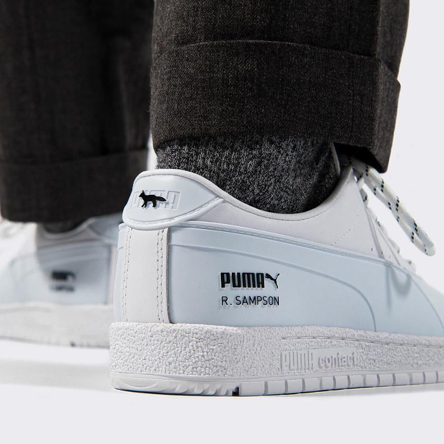 Puma x Maison Kitsuné Ralph Sampson Rubber 70's White 375647-01