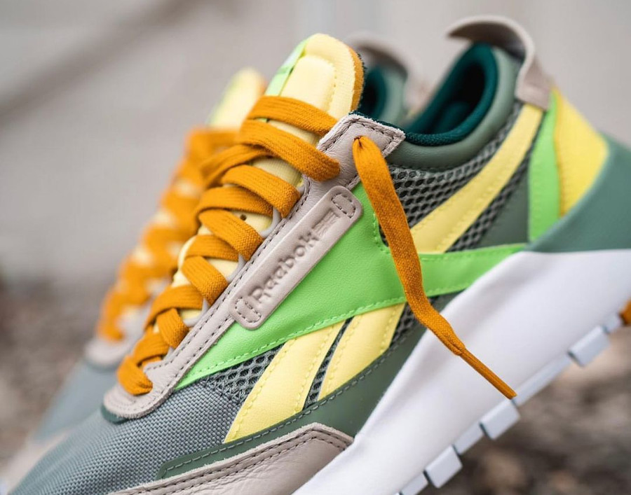 Reebok Classic Leather Legacy vert citron menthe (2)