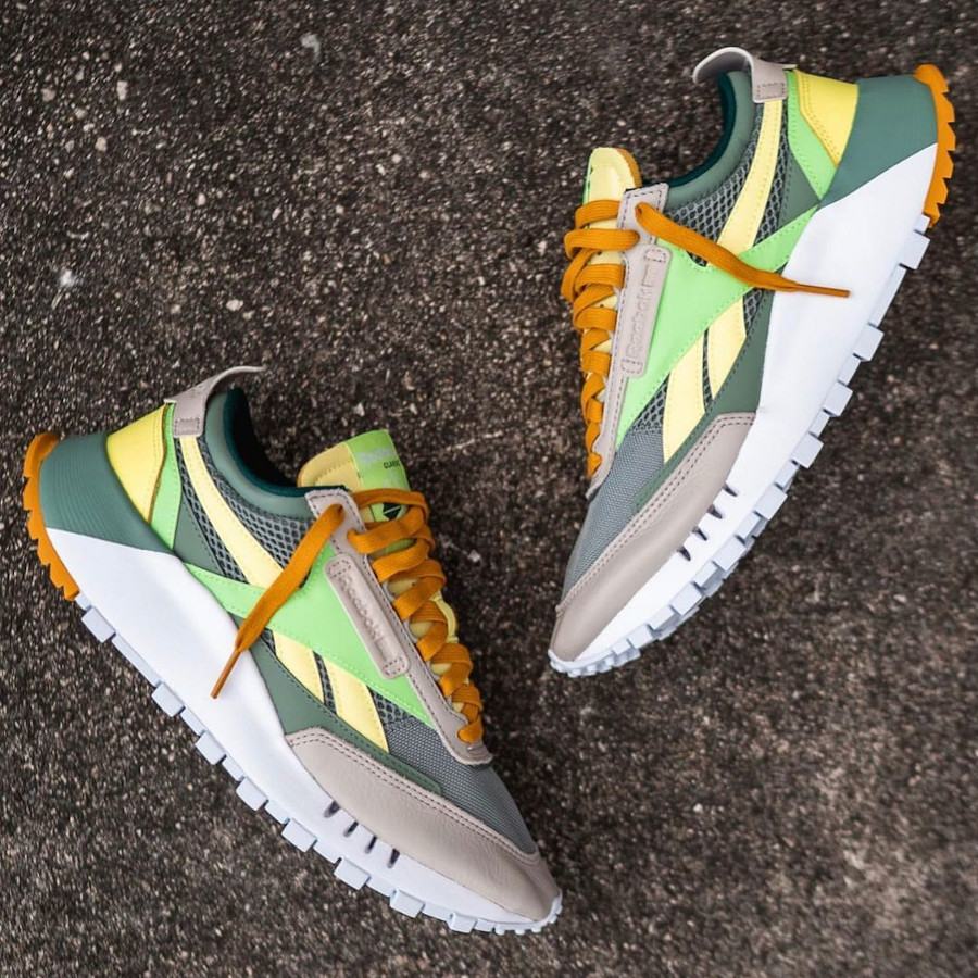Reebok Classic Leather Legacy vert citron menthe (3)