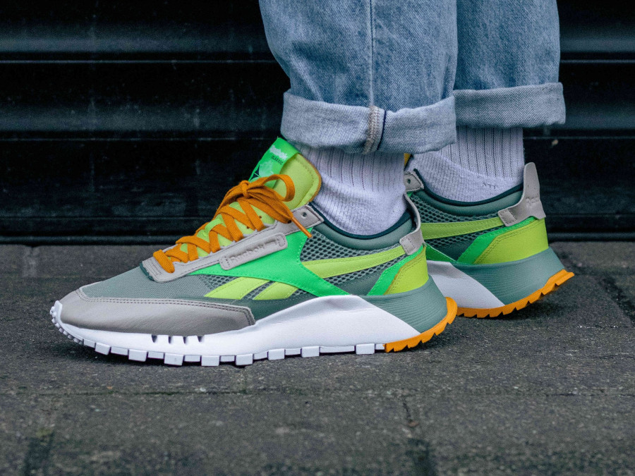 Reebok Classic Leather Legacy vert citron menthe (4)