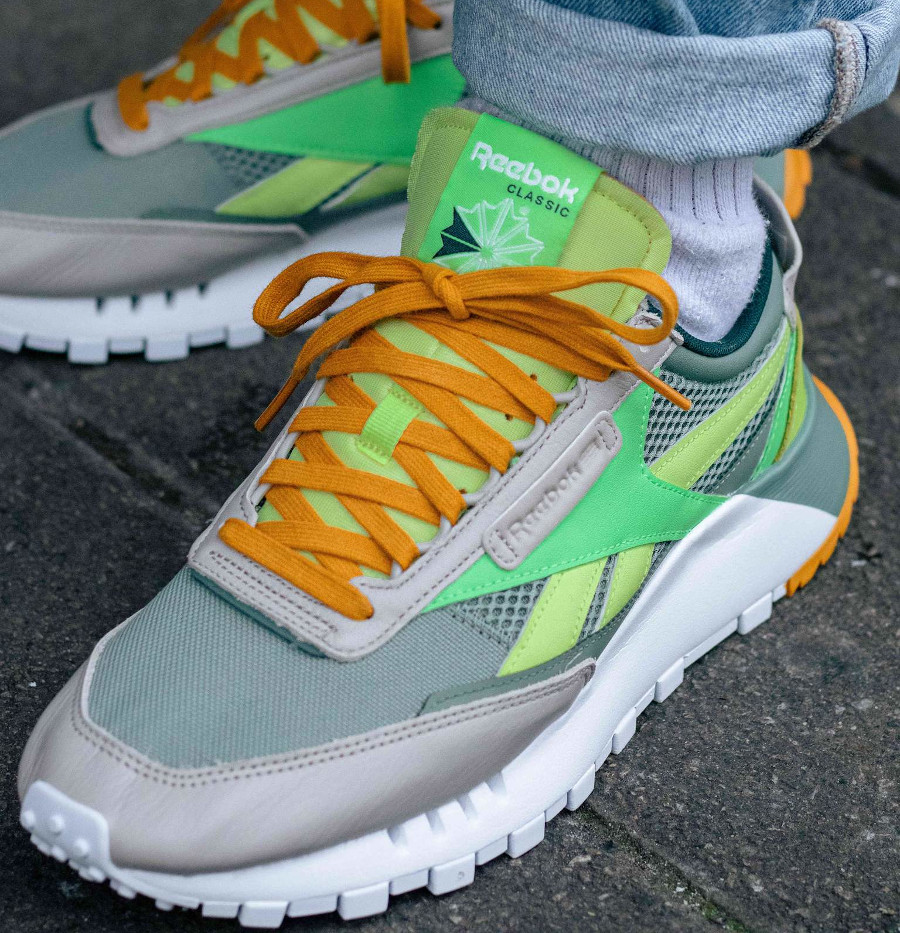 Reebok Classic Leather Legacy vert citron menthe (5)