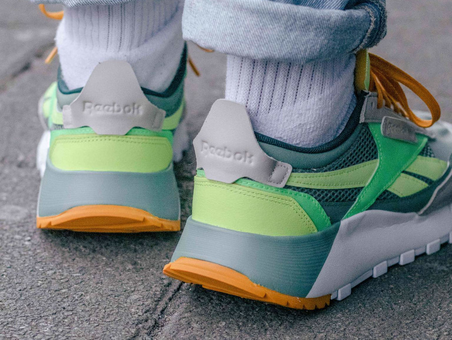 Reebok Classic Leather Legacy vert citron menthe (6)