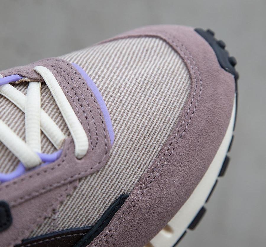 Tariq Devega x Reebok CL Legacy grise et violet (4)