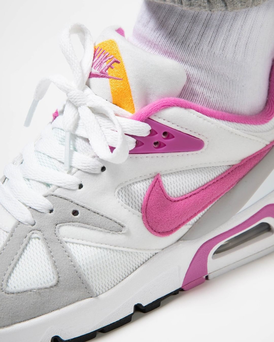 Women's Nike Air Structure rose blanche et rose (3)