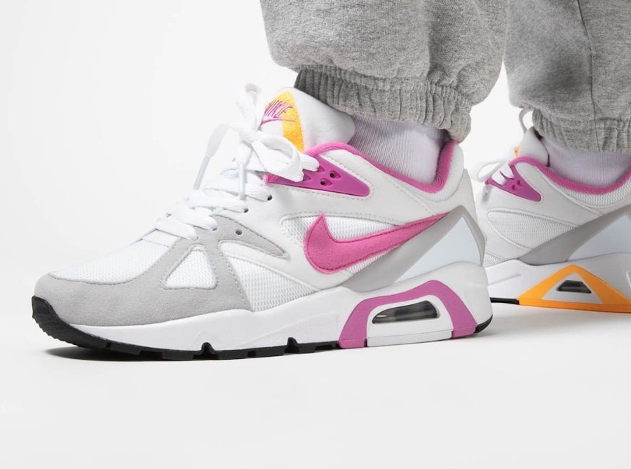 Women's Nike Air Structure rose blanche et rose (4)