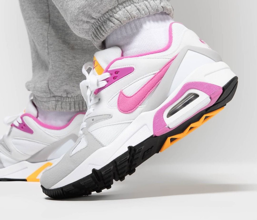Women's Nike Air Structure rose blanche et rose (5)
