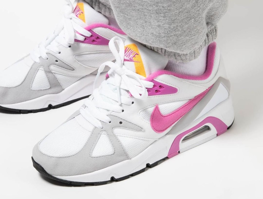 Women's Nike Air Structure rose blanche et rose (6)