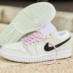 Women's Air Jordan 1 Low SE Barely Green Arctic Pink