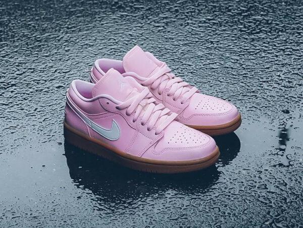 AJ1 Low Wmns Arctic Pink Gum Light Brown DC0774-601