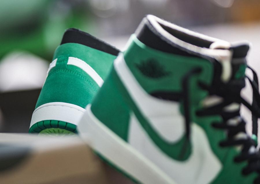 AJ1 Zoom Comfort blanche et verte (2)