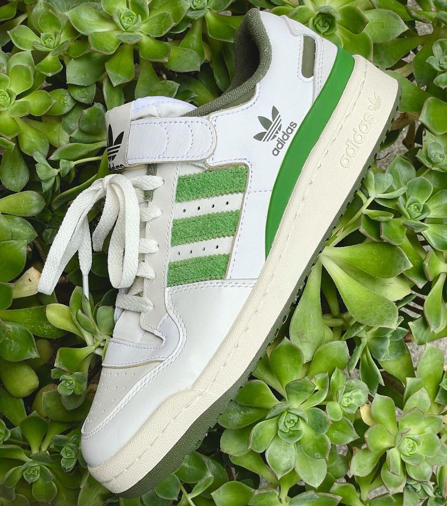 Adidas Forum Low 84 vintage blanche et verte (2)