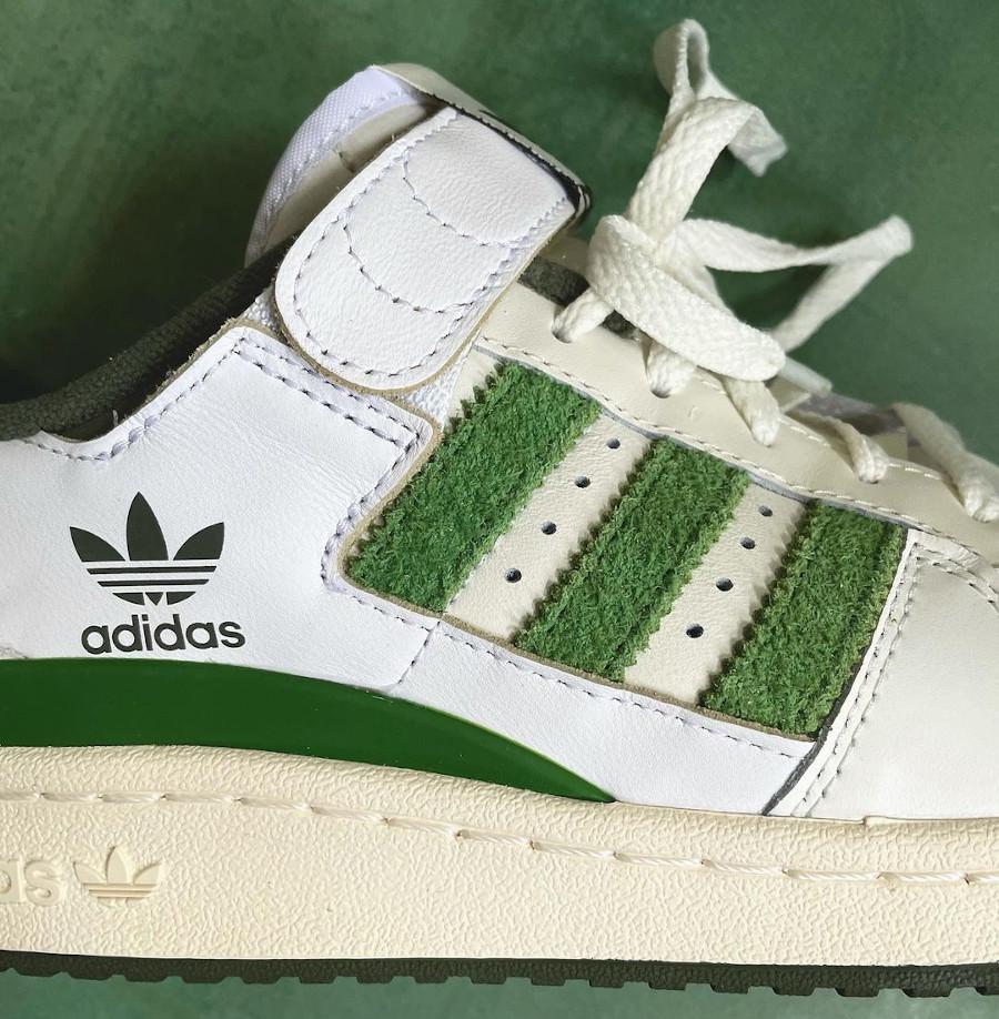 Adidas Forum Low 84 vintage blanche et verte (3)