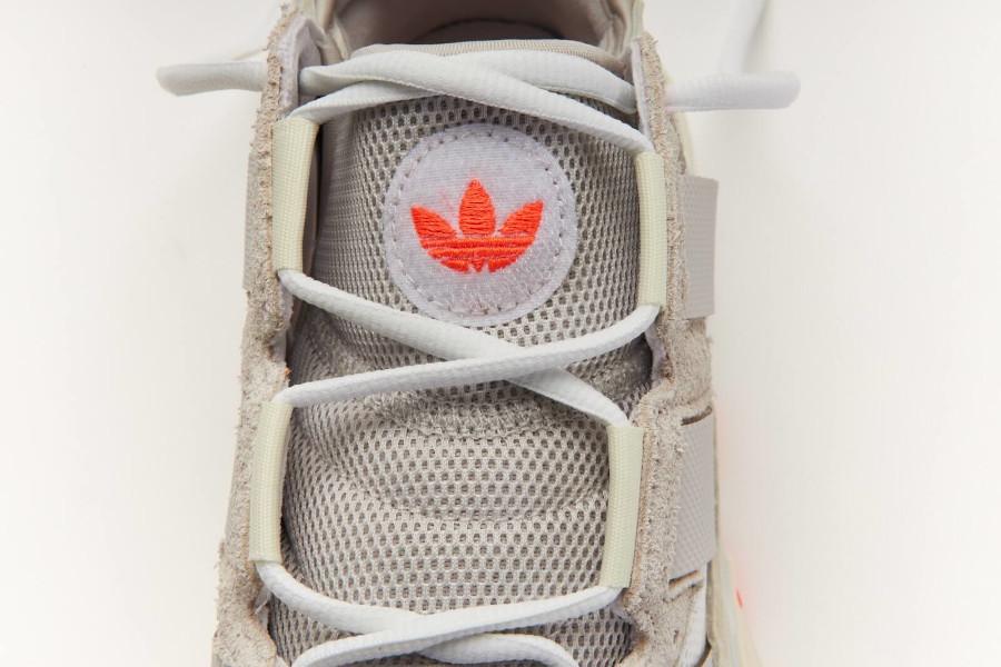 Adidas Nite Ball blanc cassé grise et orange (6)